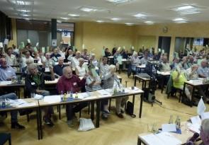 Die Vertreterversammlung findet einmal pro Jahr statt. Auf ihr werden u.a. der Jahresabschluss und die Dividendenausschüttung beschlossen. Foto c HARABAU